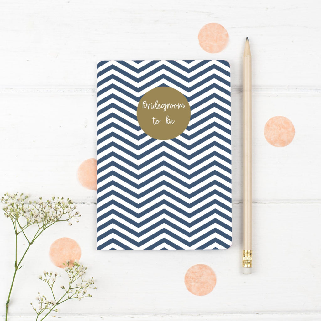 Groom Notebook Gift - the green gables store