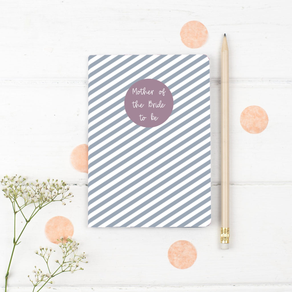 Mother of the Bride Notebook Gift - the green gables store