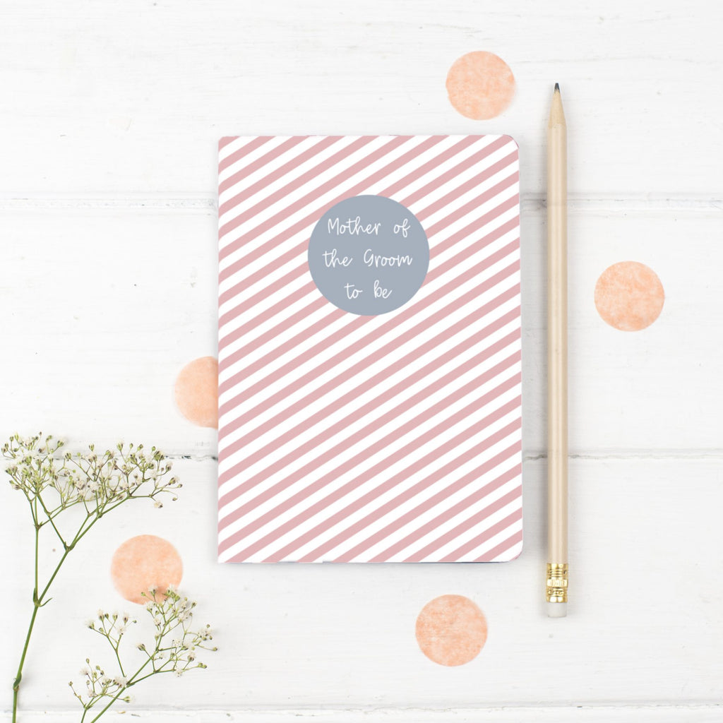 Mother of the Groom Notebook Gift - the green gables store
