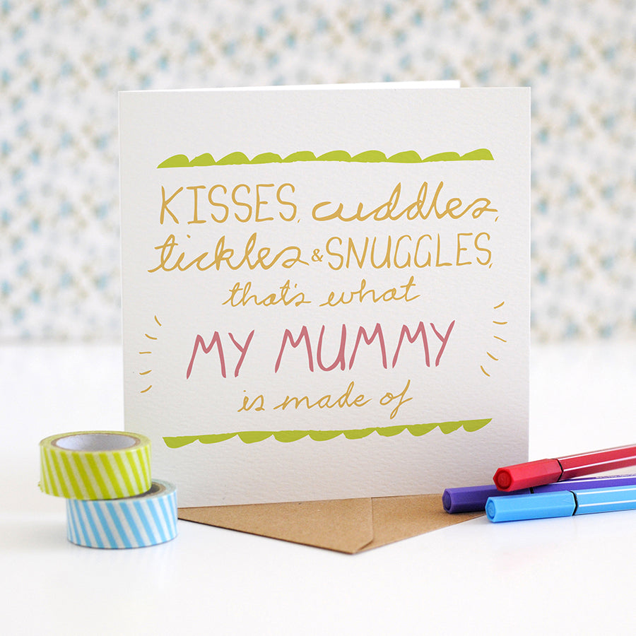 'My Mummy is made of' Card - the green gables store