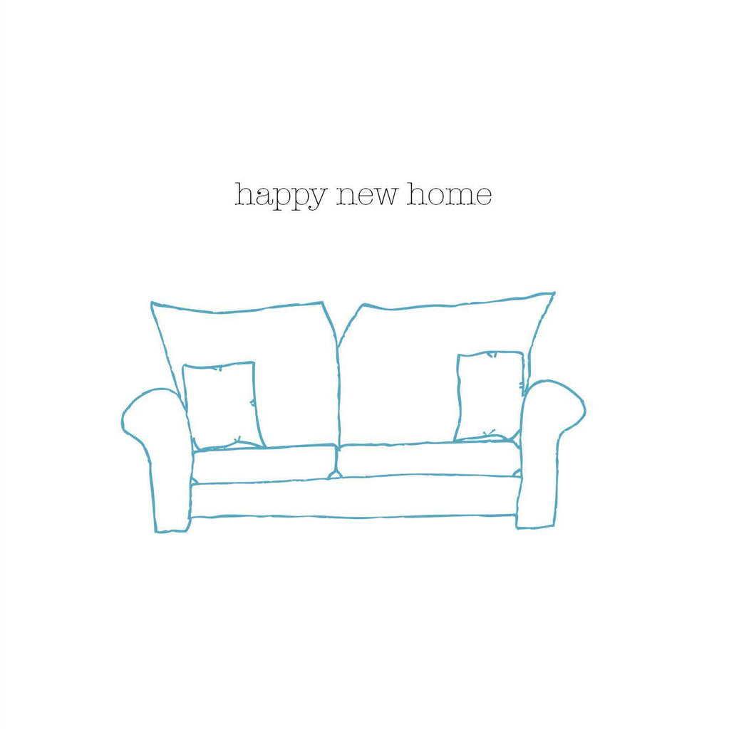Happy New Home Card (option to personalise) - the green gables store