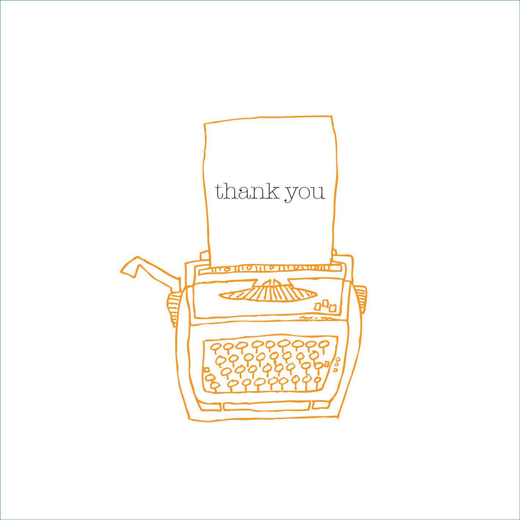 Thank You Card (option to personalise) - the green gables store
