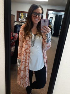 Paisley and Stripe Duster