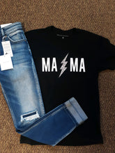 Load image into Gallery viewer, MAMA Lightning Graphic Tee