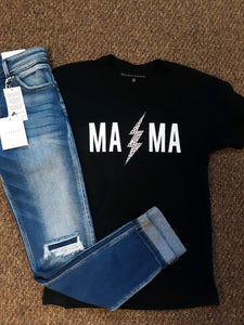 MAMA Lightning Graphic Tee
