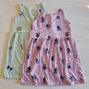 SLEEVELESS COTTON DRESS (2-4YO)