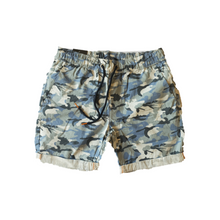 Load image into Gallery viewer, CAMO DRAWSTRING SHORTS