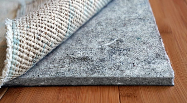 thick soft rug pad