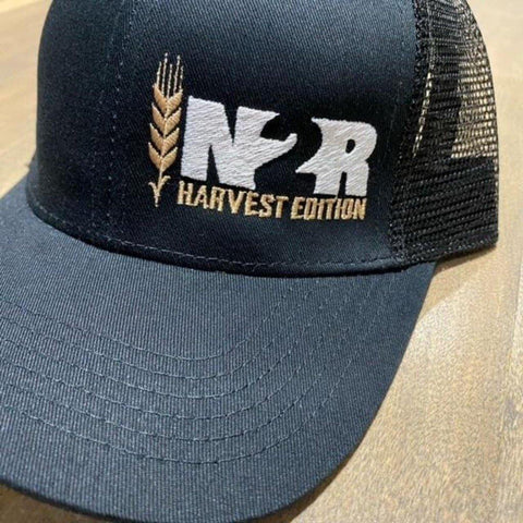 Harvest Edition All Black Snapback Trucker Hat - IN2R Clothing & Apparel