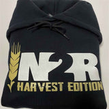 Harvest Edition Black Hoodie - IN2R Clothing & Apparel