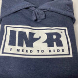Heather Navy Original Hoodie - IN2R Clothing & Apparel