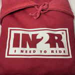 Heather Red Original Hoodie - IN2R Clothing & Apparel