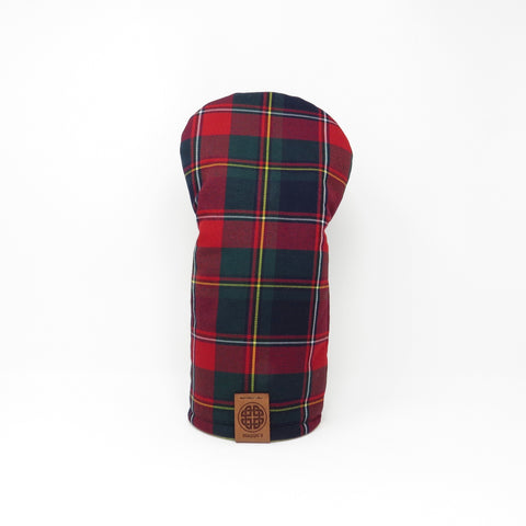 Keyhole Driver Headcover, Quebec Tartan