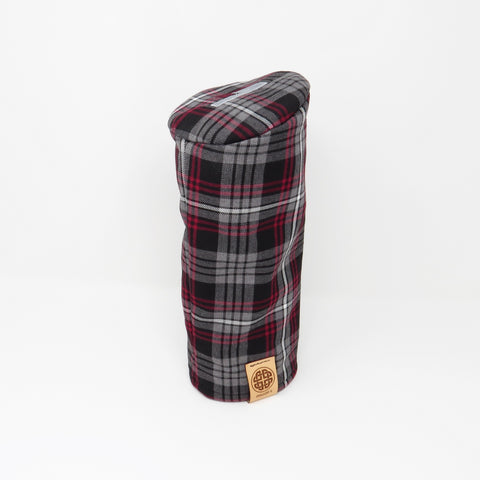 Pipe Style Driver Headcover - Auld Lang Syne Tartan
