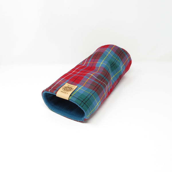 Pipe Style Driver Headcover - British Columbia Tartan