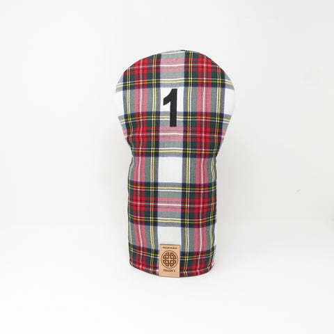 Keyhole Driver Headcover, Dress Stewart Tartan