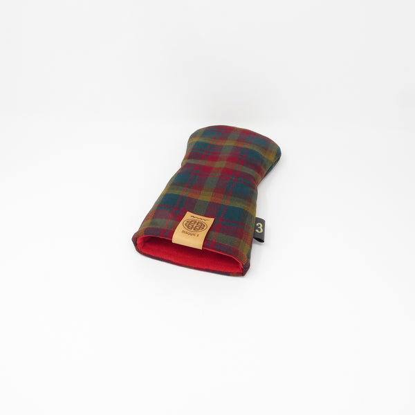 Keyhole Fairway Wood Headcover, PROVINCIAL Tartans