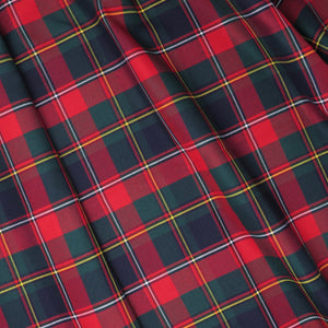 Pipe Style Fairway Wood Headcover - Quebec Tartan