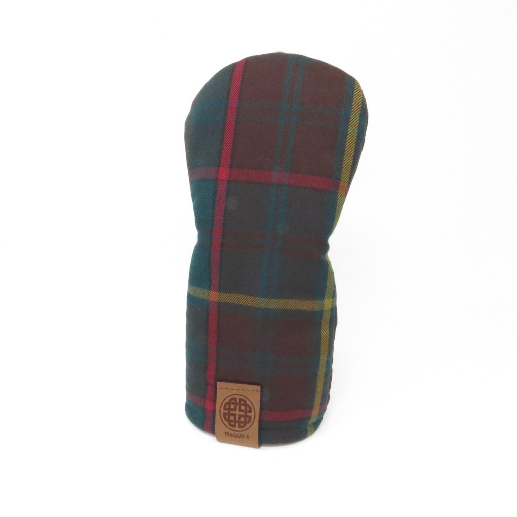 Keyhole Fairway Wood Headcover, Ontario Tartan
