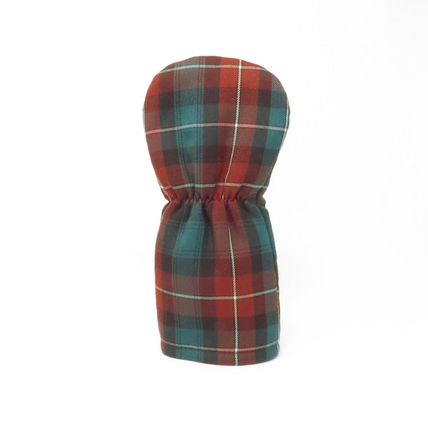 Keyhole Fairway Wood Headcover, PEI Tartan