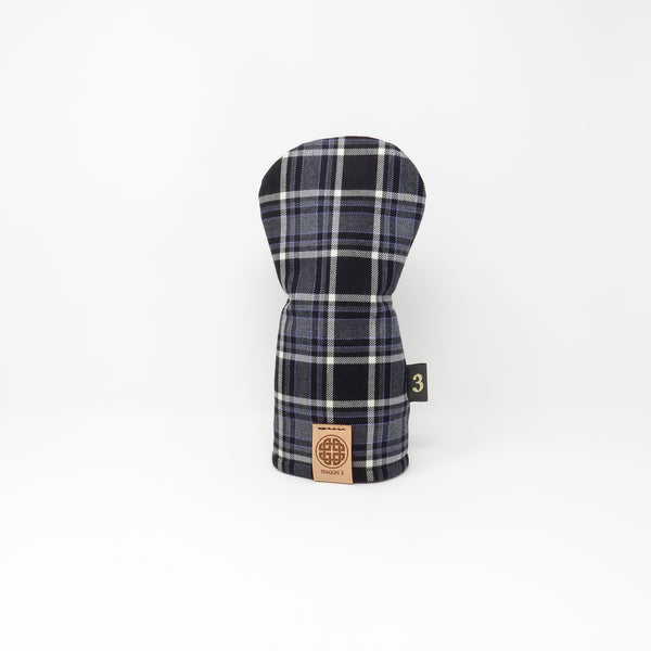 Keyhole Fairway Wood Headcover, Predator Ridge Tartan