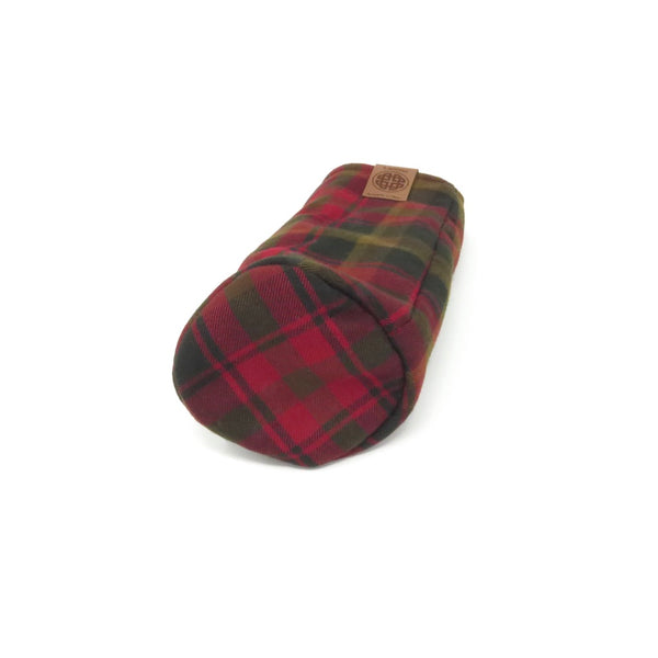 Pipe Style Fairway Wood Headcover - Canada Maple Tartan