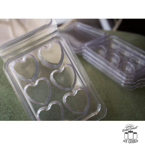 Heart Clam Shell Moulds