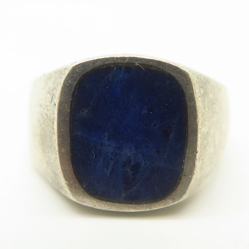 Deep Dive Vintage Sodalite Ring