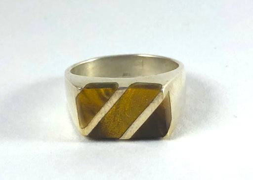 Unearthed Vintage Tiger's Eye Ring