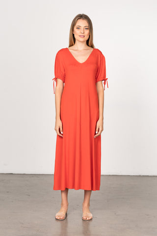 Fidel Dress Rayon Crepe