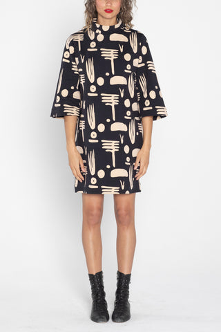 Nouvelle Printed Dress