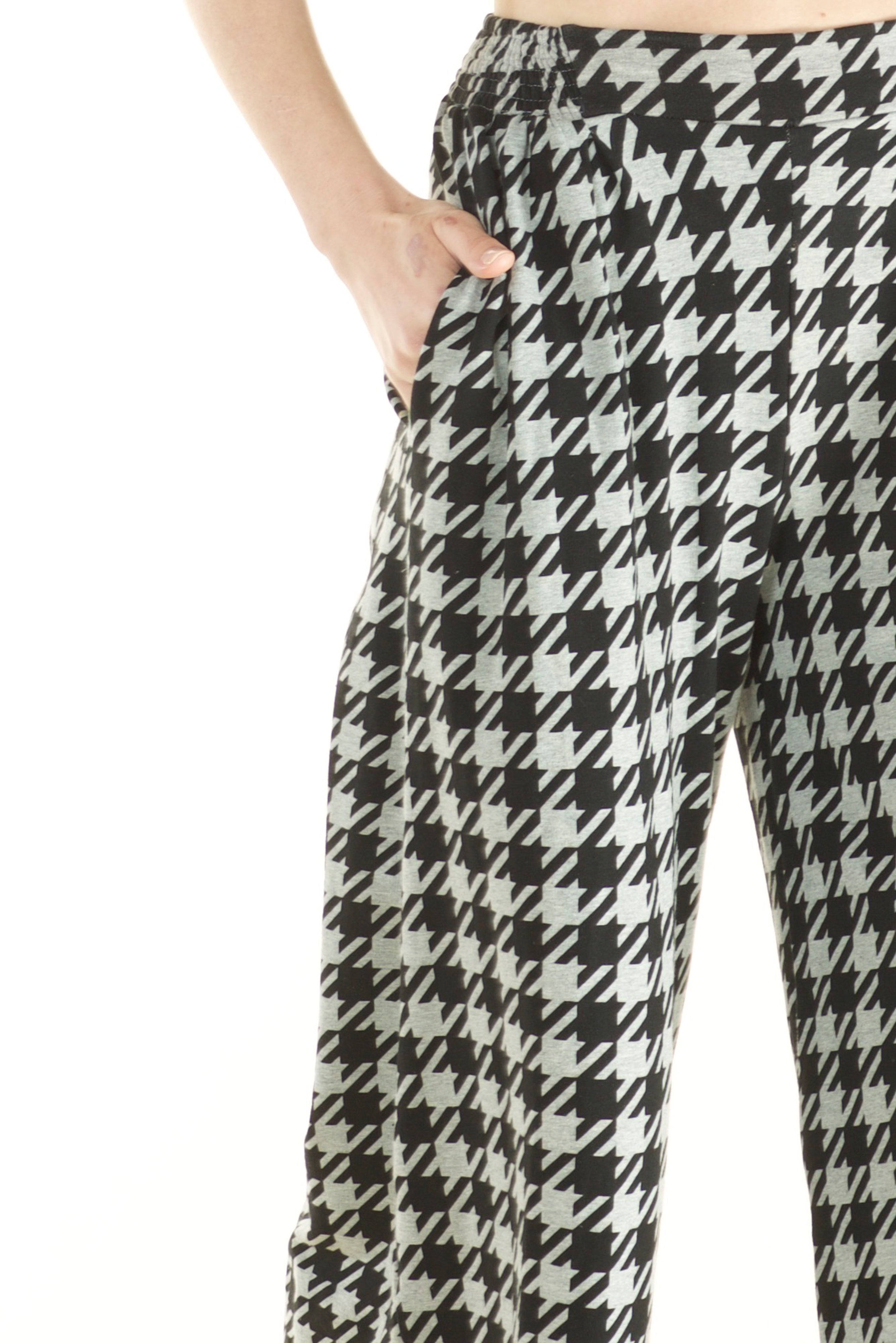 Atlas Pant Houndstooth