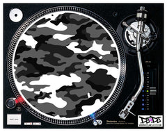 Army Camouflage Logo Slipmats ( Various Colours)