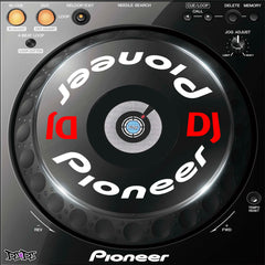 Pioneer DJ / CDJ 800 850 900 1000 2000 Nexus Jog Wheel Stickers / Graphics