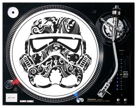 STARWARS Stormtrooper Patterned Helmet Slipmats