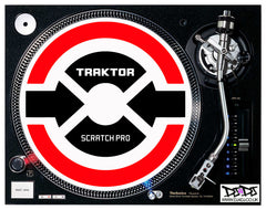 Traktor Scratch Pro Turntable Slipmats
