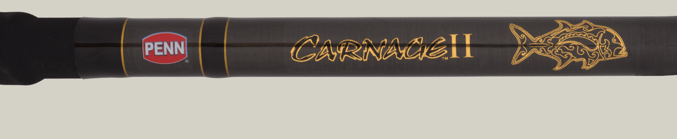 Carnage™ II Surf Conventional Ulua Rod close-up