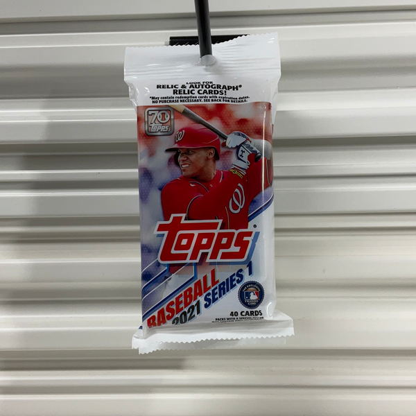 2021 Topps Series 1 Baseball Value Pack