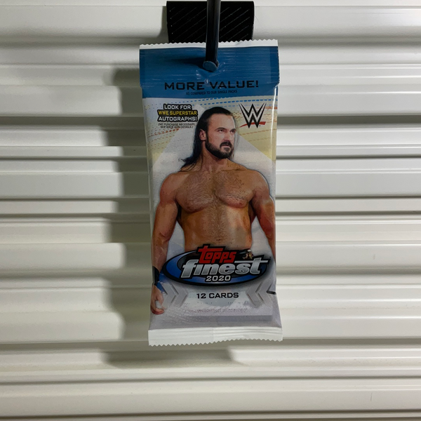 2020 Topps Finest Wrestling WWE Cello Pack