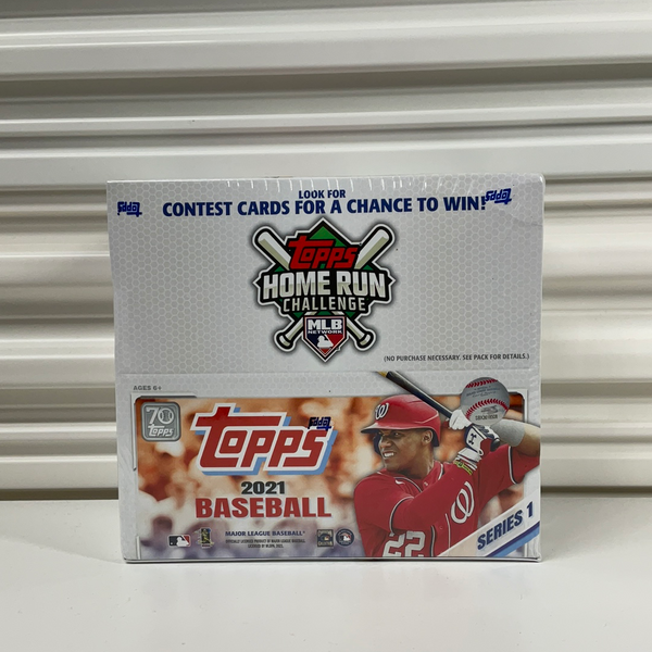 2021 Topps Series 1 Baseball 24 Pack Retail Box