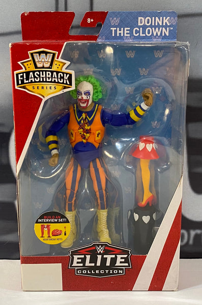 WWE Elite Flashback Series Doink The Clown Action Figure