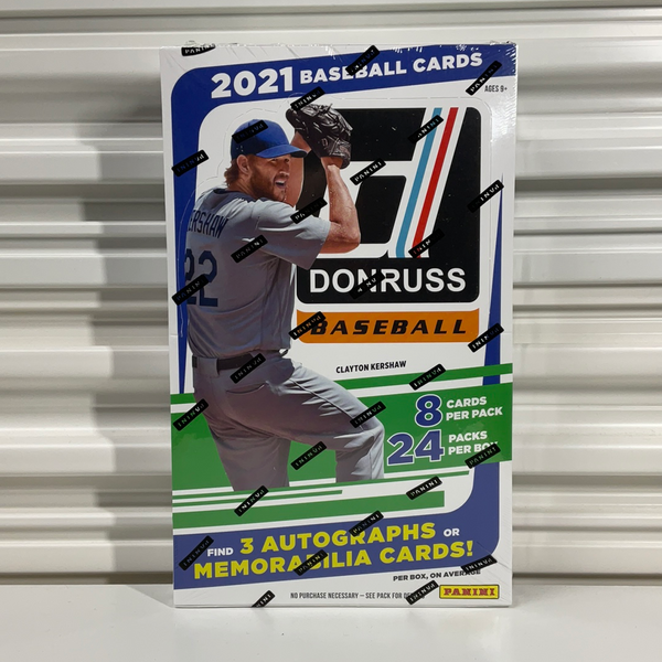 2021 Panini Donruss Baseball Hobby Box