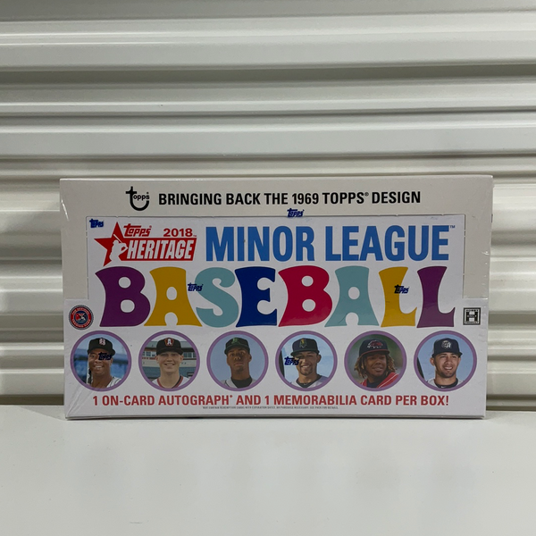 2018 Topps Heritage Minor League Baseball Hobby Box