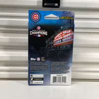 2016 Topps World Series Chicago Cubs Champ Hanger PACK