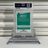 2020 Donruss Optic FORREST WHITLEY Rated Prospects Sig-Gold PSA 9 MINT