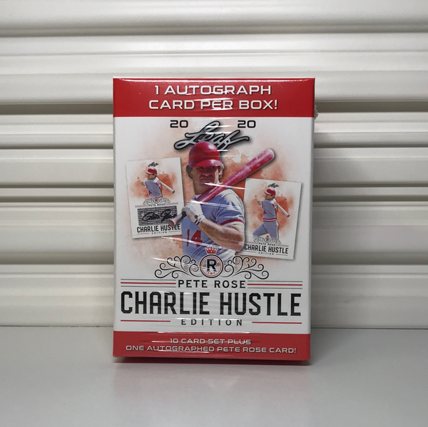 Leaf Pete Rose Charlie Hustle Edition Blaster