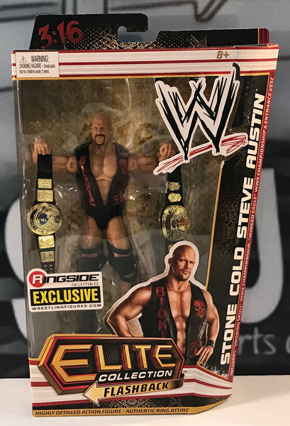 WWE Ringside Exclusive Elite Stone Cold Steve Austin Action Figure