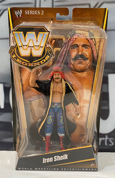 WWE Legends Series 2 Iron Sheik Elite Action Figure