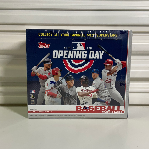 2019 Topps Baseball Opening Day Hobby Box