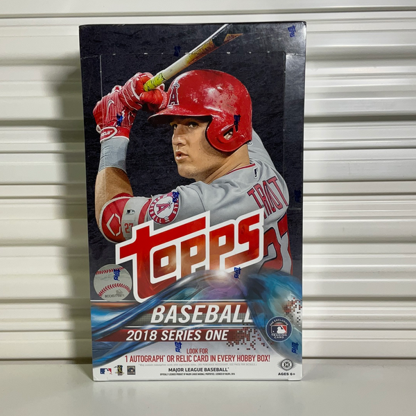 2018 Topps Baseball Series 1 Hobby Box